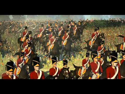Battle of Waterloo part 1 of 3 (Napoleon total war)