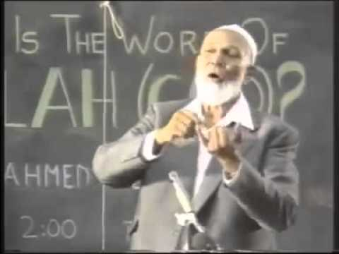 Sheikh Ahmed Deedat - To All Christians - Make Up Your Mind video