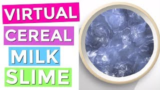 Categories video cereal milk slime diy virtual cereal milk slime how to make virtual slime on your iphone ccuart