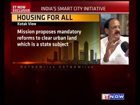 100 Smart Cities - Urban Development Min Venkaiah Naidu Charts Out Smart City Model To ET NOW