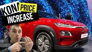 Hyundai Kona Electric Price increased and am BACK to youtube 🔌🔋🚗