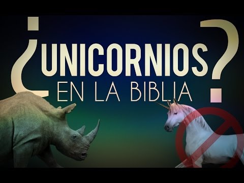 ¿Habla la Biblia de Unicornios?