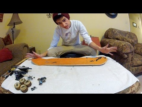 How To Set Up Your Skateboard The Proper Way!