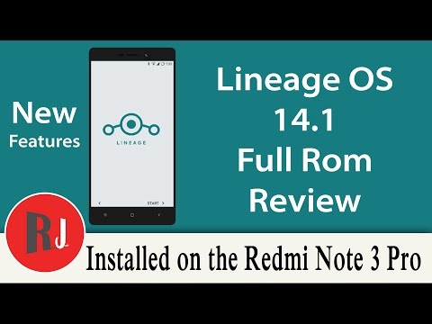 Lineage OS Full Custom Rom Review on the Redmi Note 3 Pro