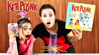 Family Fun Game for Kids KerPlunk with Trolls Blind Bag Surprise Toy