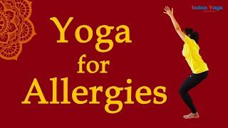 Yoga for Nasal Allergies | Sore throat | Congestion | runny nose remedy | allergic rhinitis | Bharat