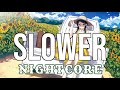 (NIGHTCORE) Slower   Austin Burke