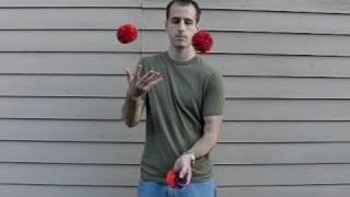 Slow motion juggling tutorials