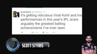 Twitter reactions to the VIRAT KOHLI 4th century in the IPL || KOHLI  113 RUNS  IN JUST 50 BALLS