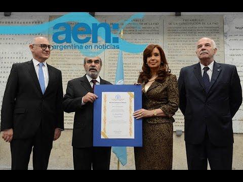 Argentina resolvió el problema del hambre con un estado presente - FAO - AEN 08-06 18HS.