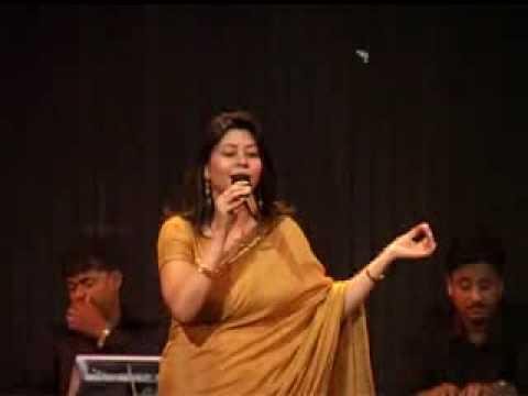 na jao saiyan chura ke a talented singer sings at sangeet smriti...