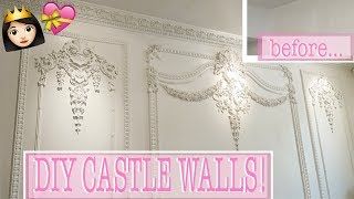 DIY CASTLE WALLS!