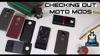 Checking Out Moto Mods SoundBoost, True Zoom, Instashare - iGyaan