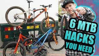 6 MOUNTAIN BIKE HACKS YOU NEED TO KNOW