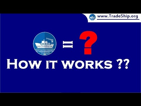 Trade Ship Organization - How It Works ??