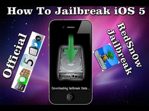 Win & MAC: How To Jailbreak OFFICIAL iOS 5 iPhone 4/3Gs iPod Touch 4G/3G & iPad - Redsn0w