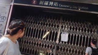 Hong Kong residents condemn recent violence