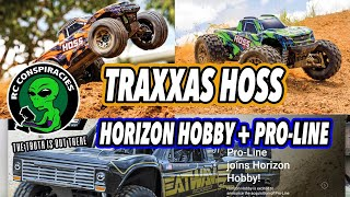 👽New Traxxas Hoss and Horizon Hobby Acquires Pro-line Racing- RC Conspiracies (Starts at 2:26)