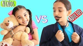 NIÑOS VS ADULTOS - Gibby :)