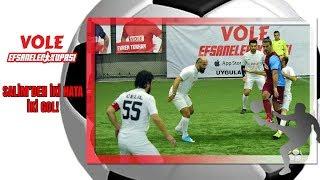 Vole Efsaneler Kupası | Salim'den iki hata iki gol!