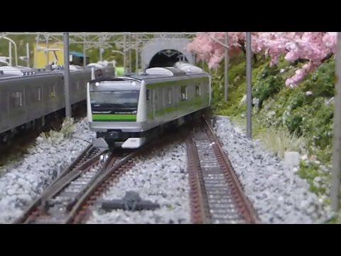 Nゲージ 横浜線 E233系6000番台(KATO) 走行シーン集