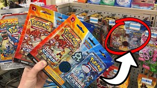 SHOCKED I FOUND THESE RARE POKEMON CARD PACKS IN KMART! Opening them