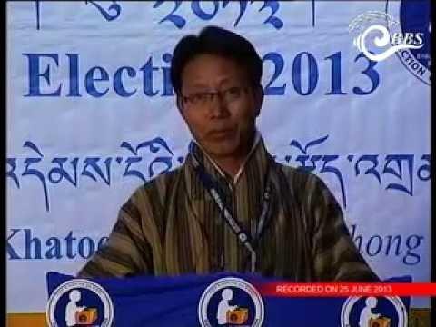 General Election ECB Debate:- Khatoed-Laya Constituency (Gasa)