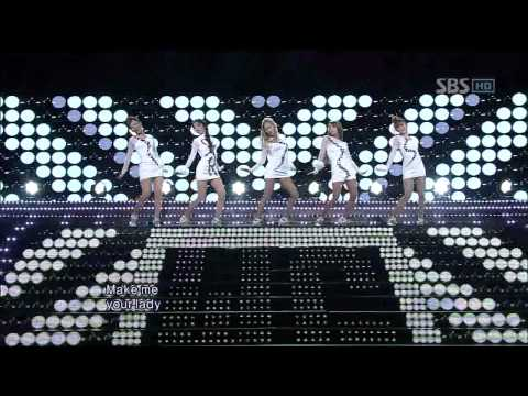 Wonder Girls - Be My Baby / Girls Night Out (GNO)@SBS Inkigayo 인기가요 20111211 Music Videos