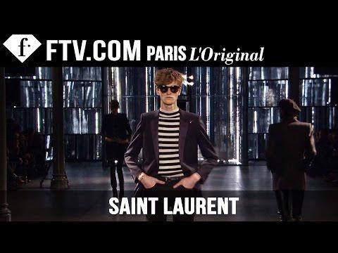 Saint Laurent Men Fall winter 2015-16 | Paris Men's Fashion Week | Fashiontv video