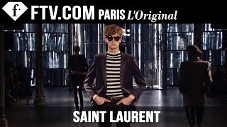 Saint Laurent Men Fall/Winter 2015-16 | Paris Men's Fashion Week | FashionTV