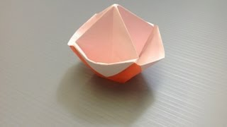 Daily Origami: 874 - Candy Pot