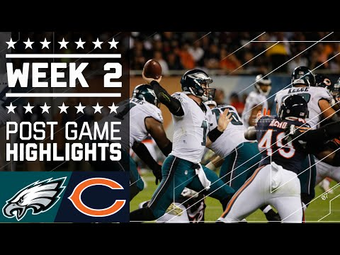 Eagles Vs Bears Nfl Week 2 Game Highlights