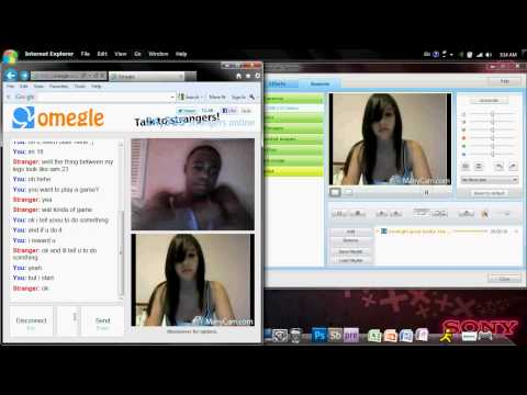 Omegle-chat Roulette-hot Strip Trick No 3 Foreigners
