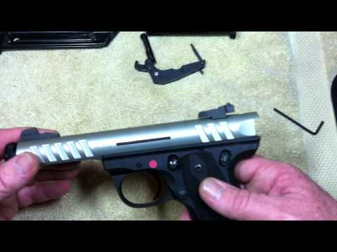 Ruger 22/45 Lite Mainspring Pin & Barrel Removal Problems