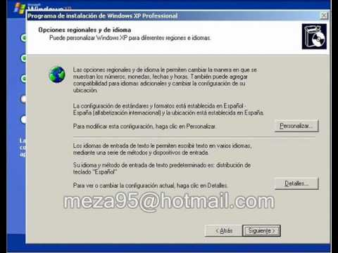 Configuracion de Sistema Operativo