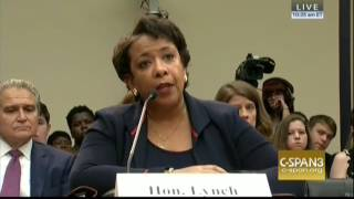 Lynch Repeatedly Dodges Questions On If She Agreed With FBI Dir. Comey's Conclusions