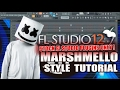 How To Make Music Like Marshmello Using Only Stock Plugins [FL Studio] + FLP