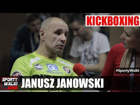 Janusz Janowski W Studio Gali KSW 41 W Katowicach
