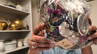 Saturday night jewelry bag opening Live!!!