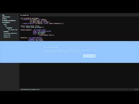 Light Table plugin development quick start