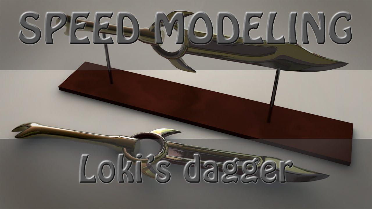 Smite Lokis Dagger Speed Modeling YouTube