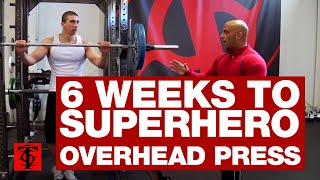 6 Weeks to Superhero Overhead Press