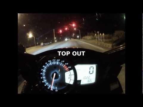 Suzuki GSXR-1000 Acceleration (0-60) and MAX SPEED Runs (185 mph+) – Clearin It'