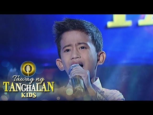 Tawag ng Tanghalan Kids: John Clyde Talili | Anak