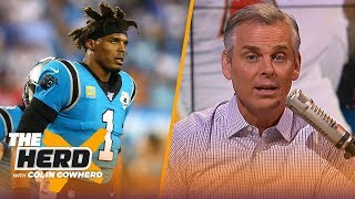Colin compares Cam Newton to Russell Westbrook, claims Dak Prescott is a better QB | NFL | THE HERD