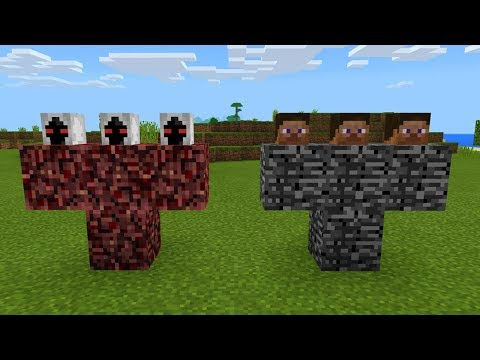 What Happens When You Spawn Herobrine and Entity 303 in Minecraft Pocket Edition