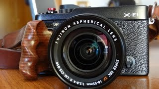 DIY Wooden Handgrip for Fuji X-E1, X-E2