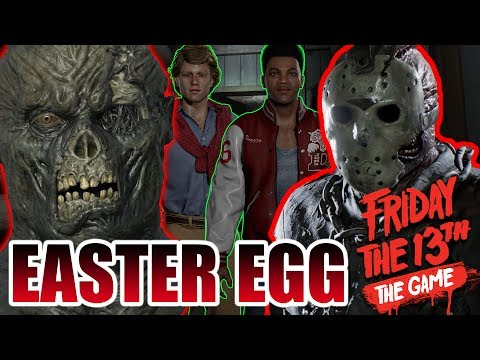 How to use JASON'S MASK!! - Easter Egg - Friday the 13th: The Game