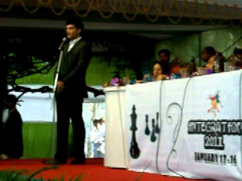 Sourav Ganguly in ISI, Kolkata: 15 Jan, 2011