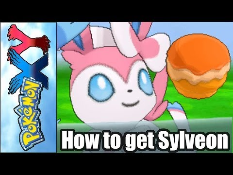 Pokemon X and Y - How to Get Sylveon FAST using Pokemon Amie (3Ds Tutorial / Guide)